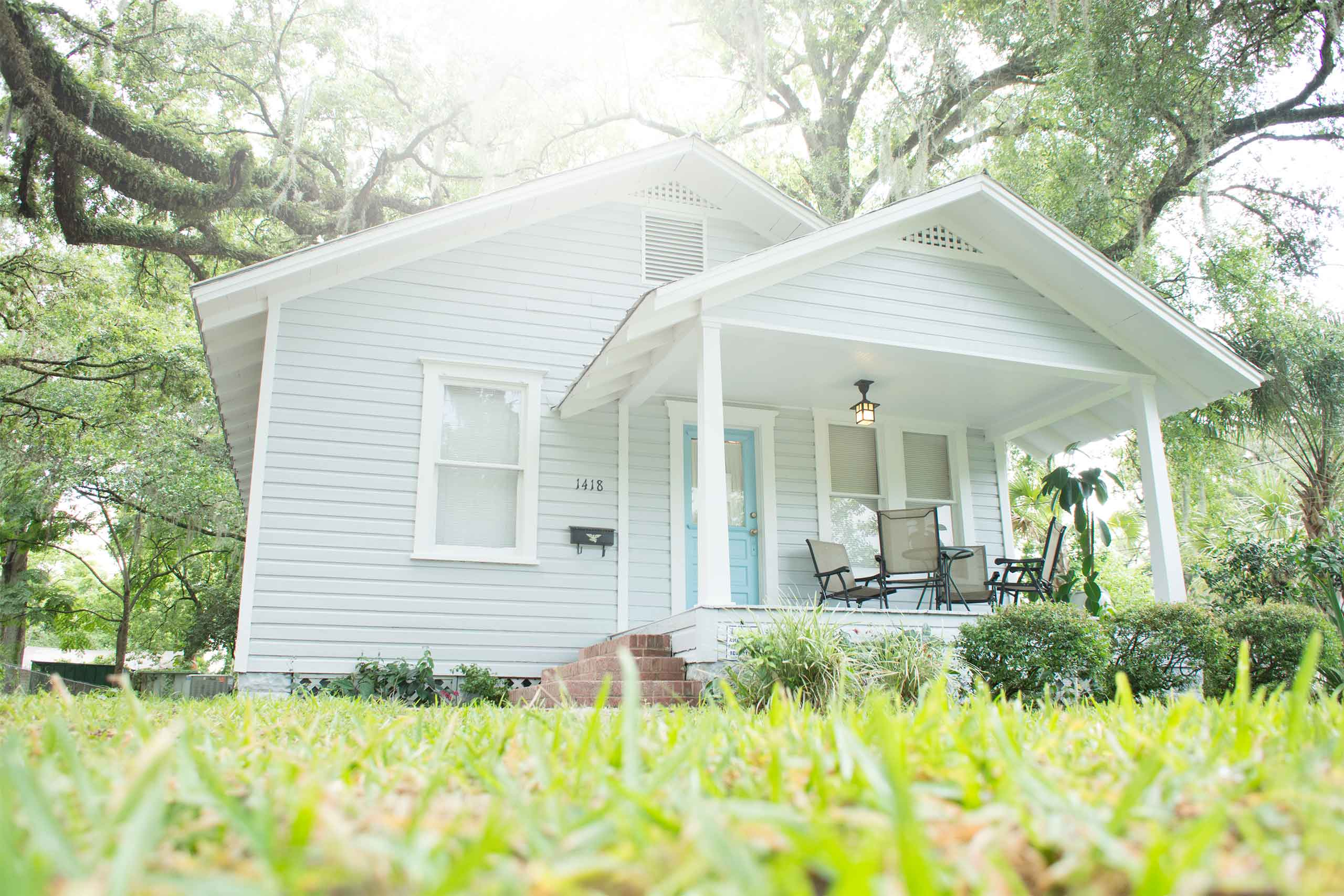 Photo of the Kerouac House, which is run by the Kerouac Project, in College Park, Orlando, Florida.