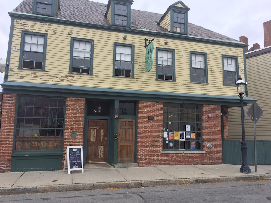 The Worthen House Cafe in Lowell, Massachusetts